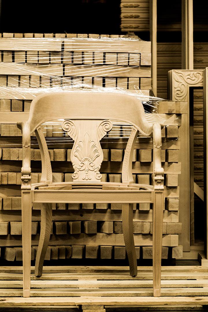 Produzione sedie e complementi in legno - Frison Sedie Verona